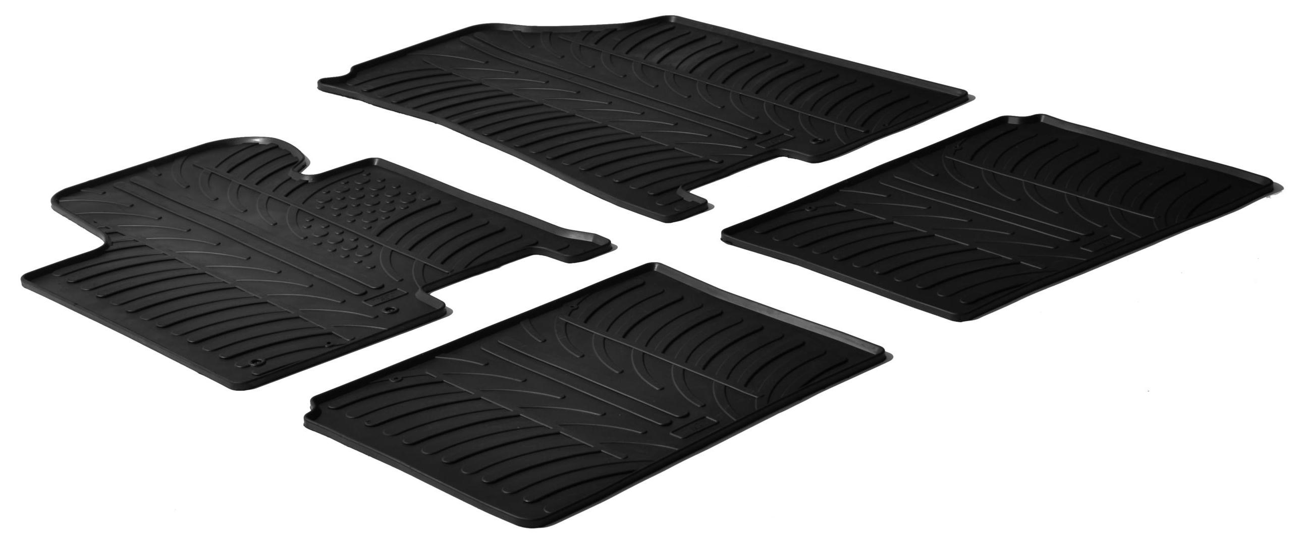 Rubbermatten voor Hyundai i40 5 deurs 2011- (T profiel 4-delig)